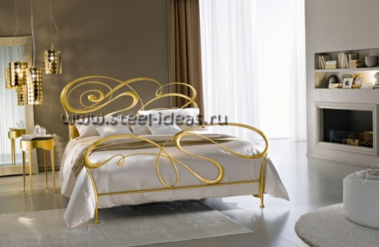 Кованая кровать - Луана