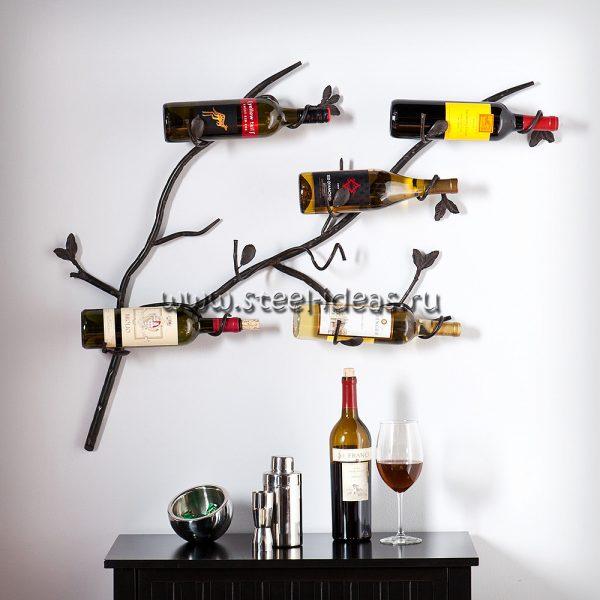 Кованая бутылочница - Эко