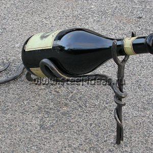 Кованая бутылочница - Рогатка