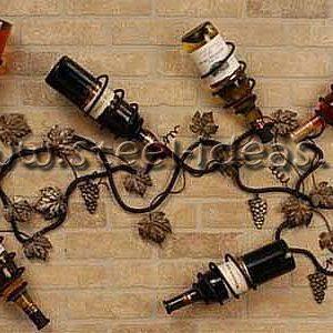 Кованая бутылочница - Вино