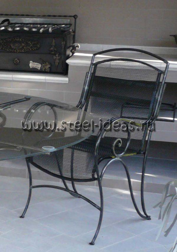 Кованые кресла Воздух