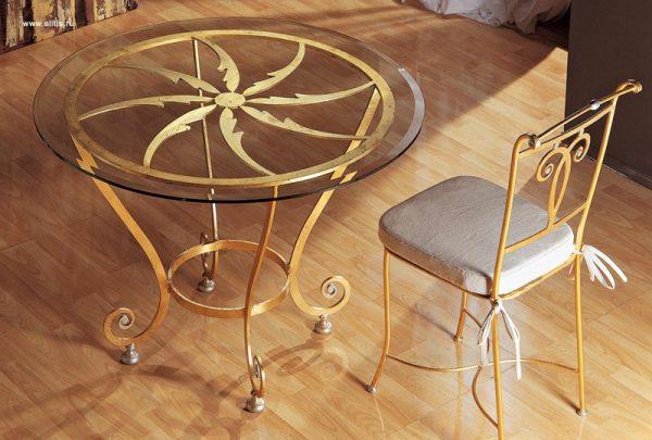 Купить кованые столы стулья