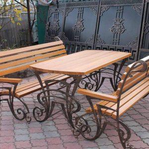 Кованая мебель для дачи цена